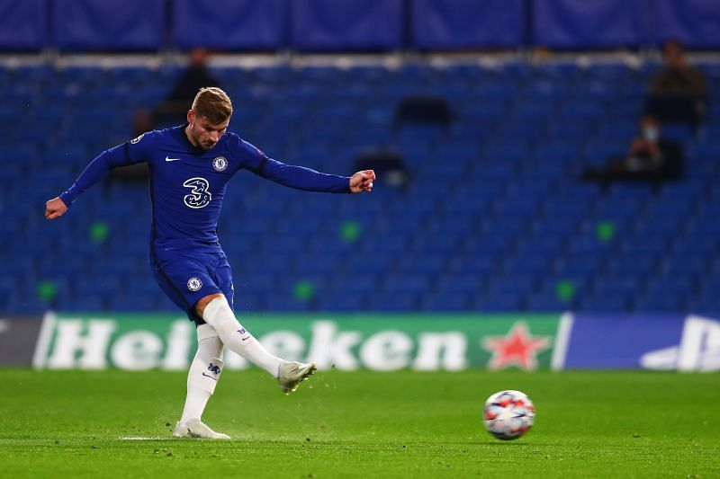 Timo Werner has been in sizzling form for Chelsea.
