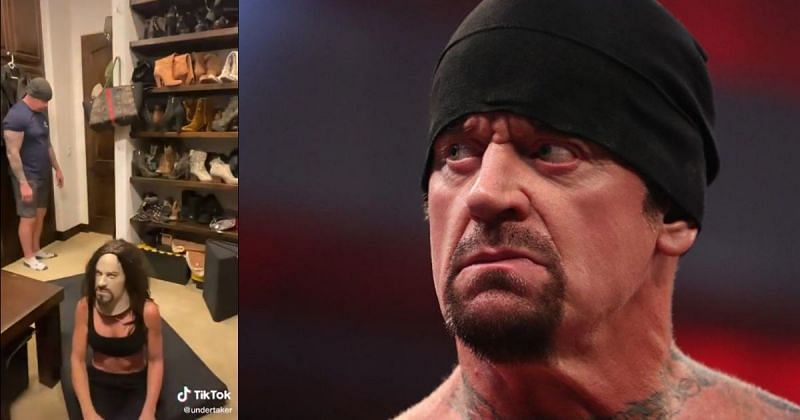 Undertaker has made his official TikTok debut.