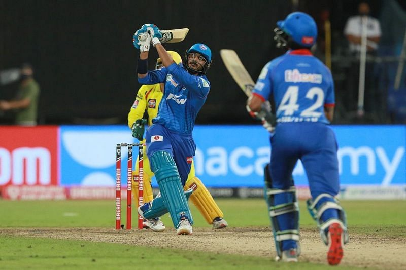 Axar Patel launched into Ravindra Jadeja to clinch yet another IPL 2020 victory for DC [iplt20.com]