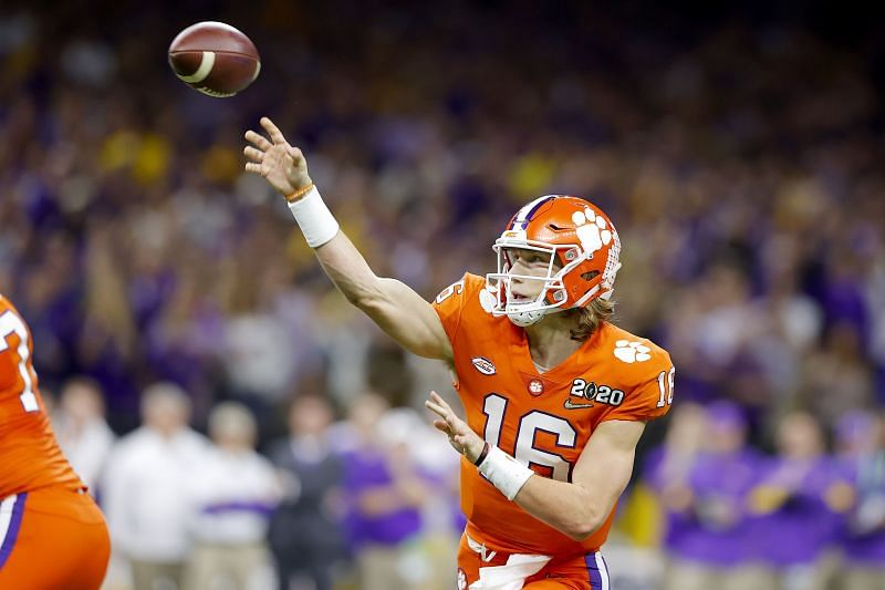 Trevor Lawrence is the top-rated quarterback in the 2021 NFL Draft