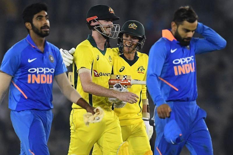 ऑस्ट्रेलिया ने यह मैच 4 विकेट से जीता था