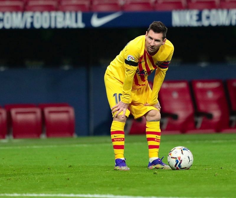Another blank for Barcelona captain Lionel Messi