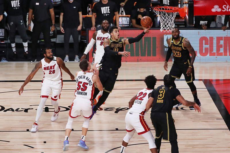 Kyle Kuzma in 2020 NBA Finals - Game Five