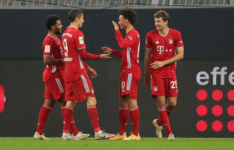 Bayern Munich beat Borussia Dortmund 3-2