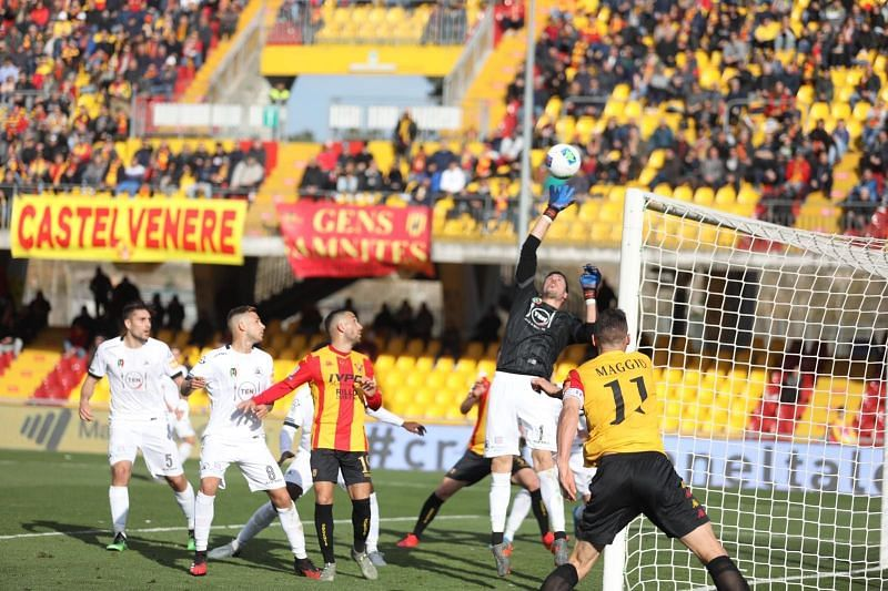 Benevento have lost only twice to Spezia in history