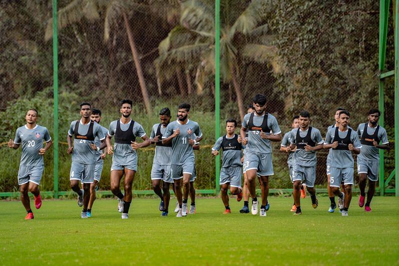 FC Goa in training.