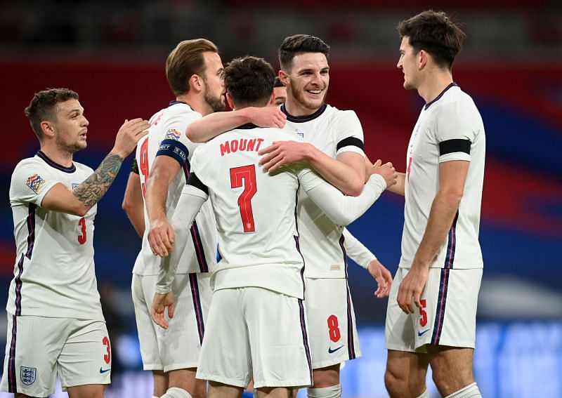 The combination of Declan Rice and Mason Mount in midfield helped England to be far more dangerous in attack.