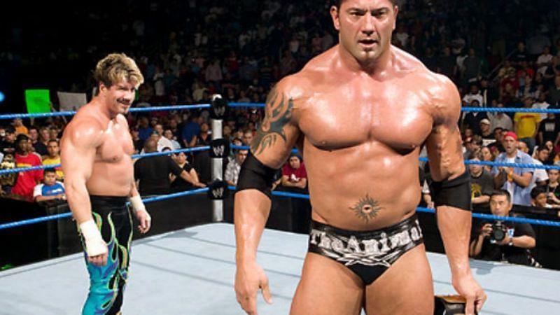 Eddie Guerrero and Batista