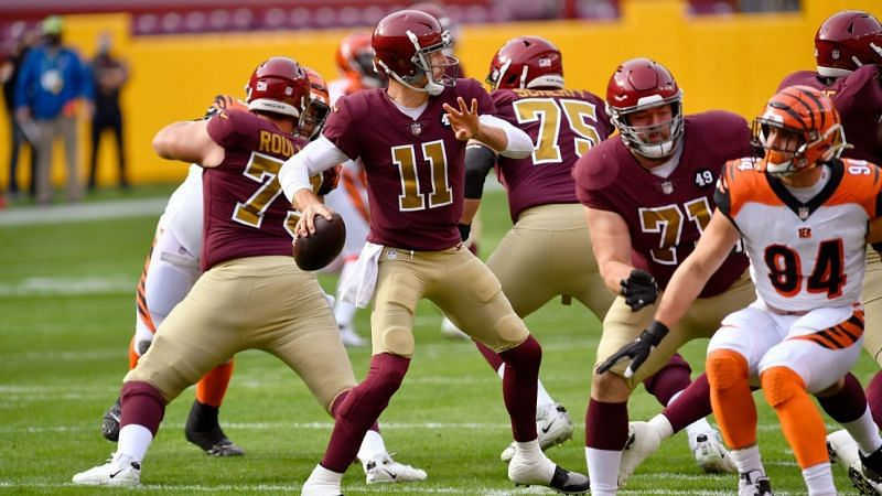 Washington QB Alex Smith (#11)