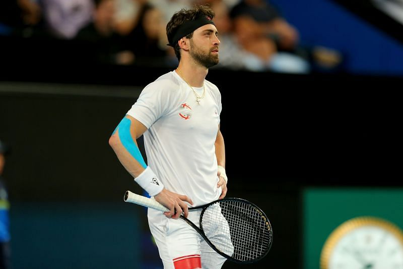 Nikoloz Basilashvili has been accused by his ex-wife of physical assault