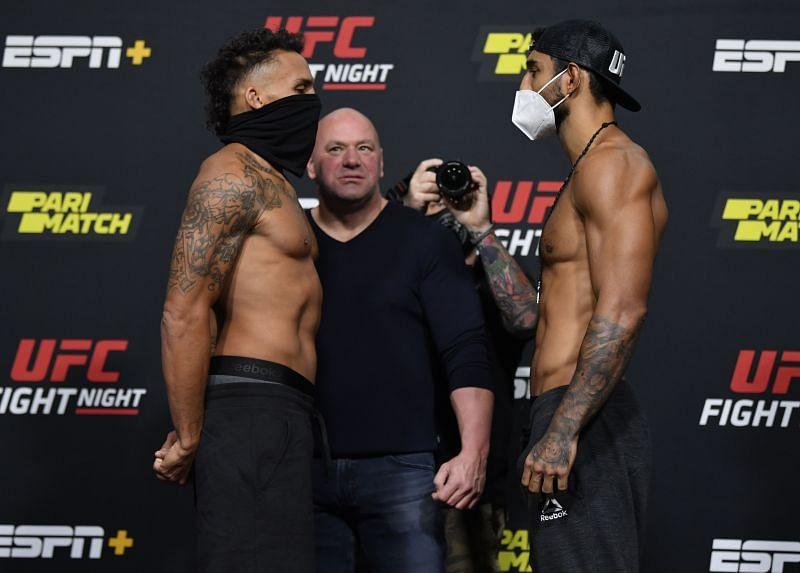 UFC Fight Night Felder v Dos Anjos: Weigh-Ins