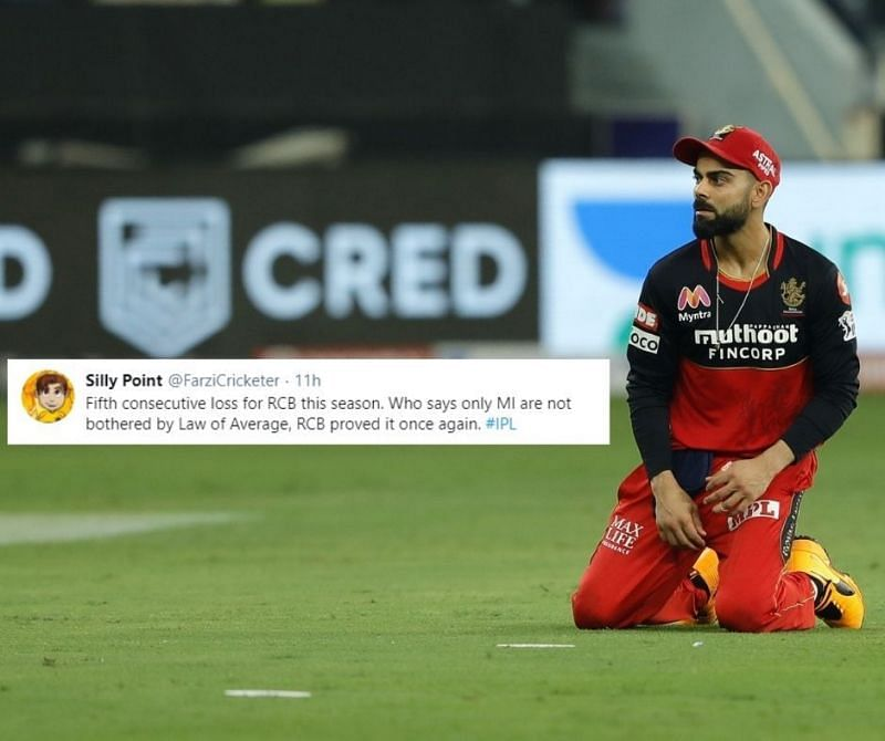 RCB lost to SRH by 6 wickets in the Eliminator to crash out of IPL 2020