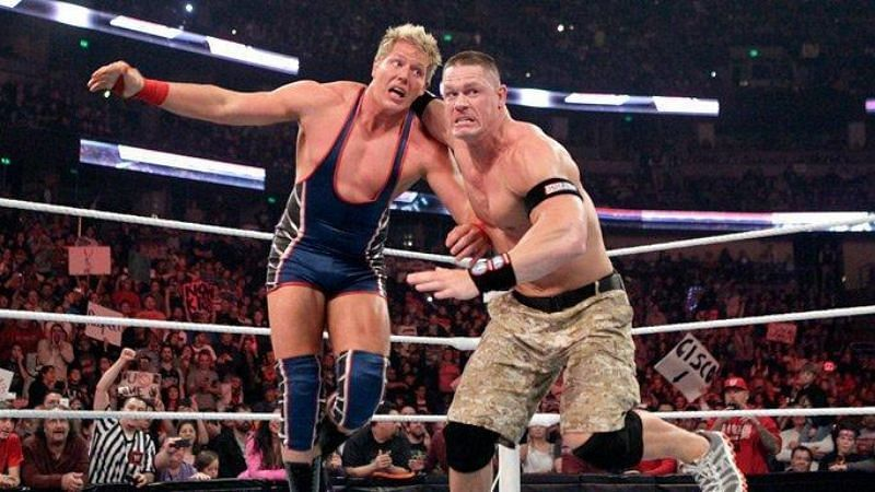 Jake Hager (fka Jack Swagger in WWE) and John Cena