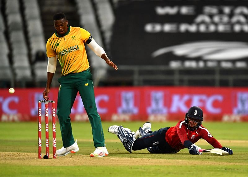 South Africa lost the first T20I against England by five wickets.