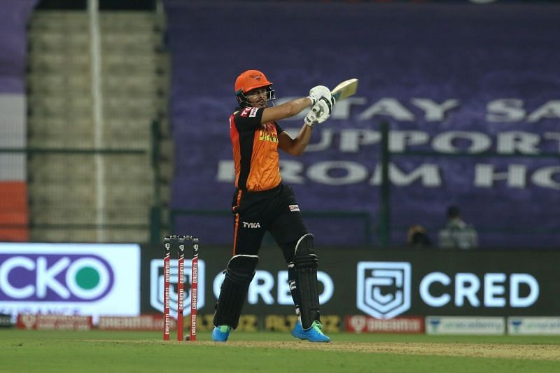 Abdul Samad played a brilliant cameo to keep SRH in the game until he got out.