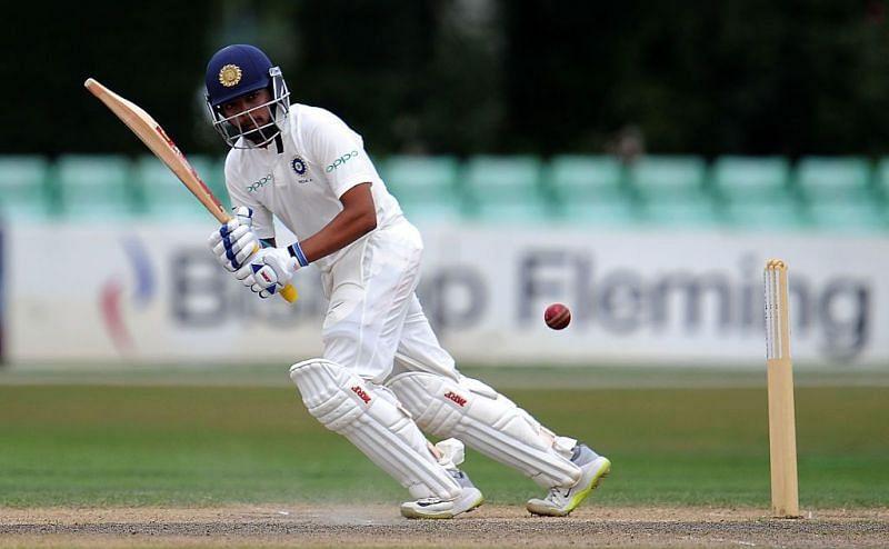 Prithvi Shaw had a nightmare IPL
