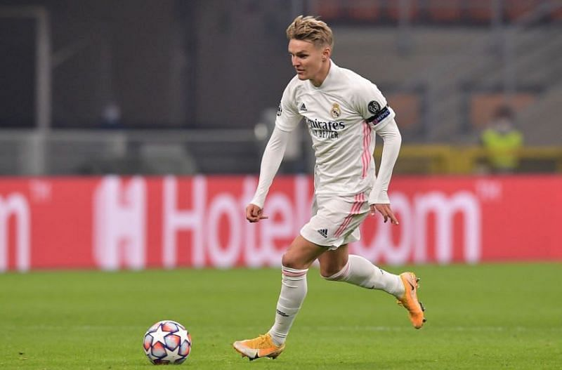 Real Madrid midfielder Odegaard delivered a performance to build upon on his Champions League debut