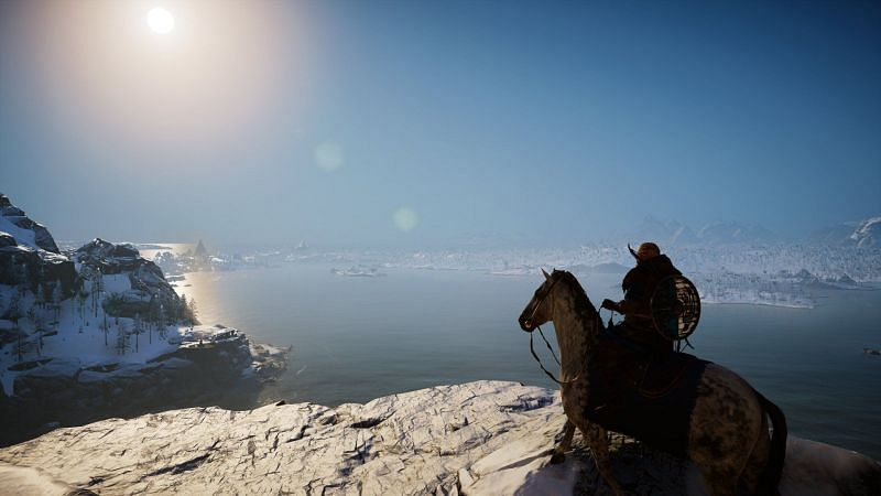 Assassins Creed Vahalla is one of the most impressive games in the series (image via Ubisoft)