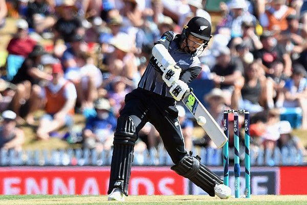 Santner had a match-winning cameo for the Kiwis.