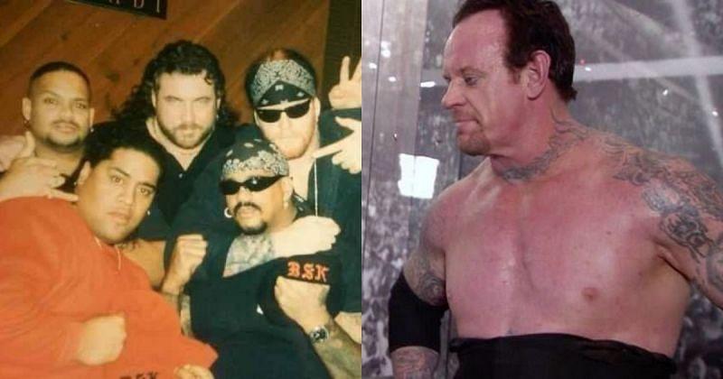 Bone Street Krew and The Undertaker.