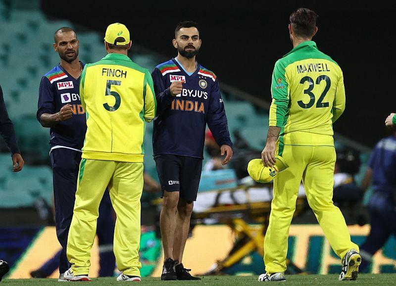 ऑस्ट्रेलिया  vs इंडिया