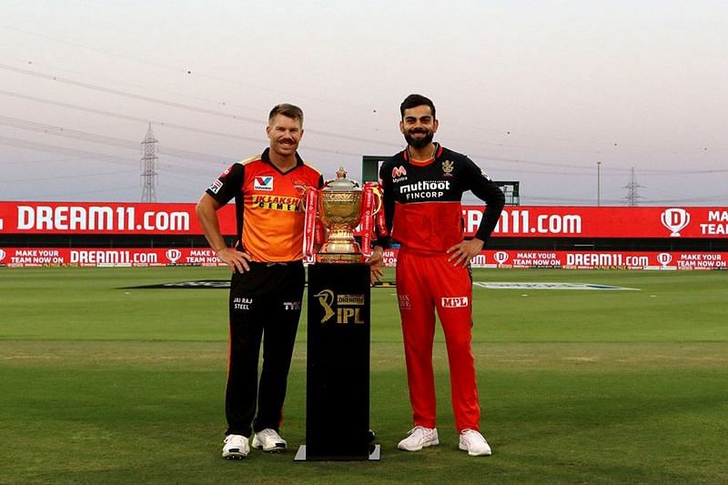 David Warner pulled the IPL trophy just out of RCB