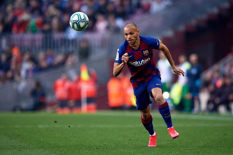 Carlos Braithwaite could play a key role for Barcelona this season.
