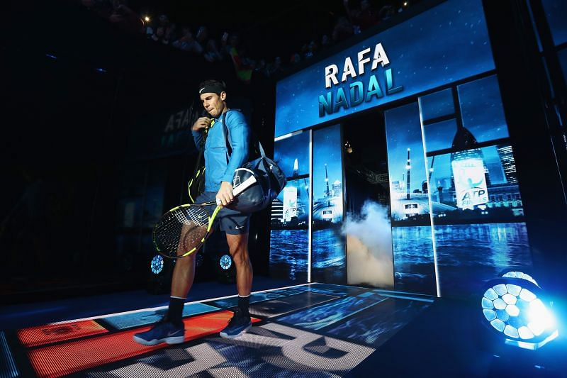 Rafael Nadal is yet to triumph at the World Tour Finals