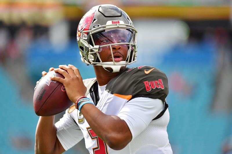 QB Jameis Winston during his time with the Tampa Bay Buccaneers