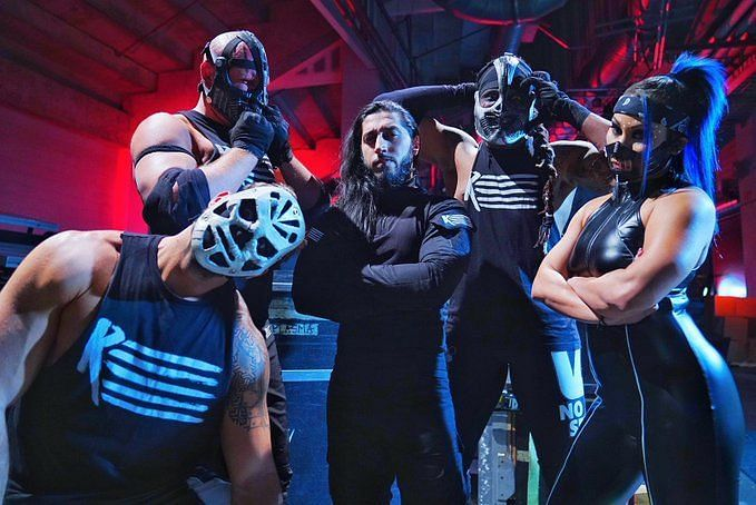 RETRIBUTION took the WWE Unierse by storm at first