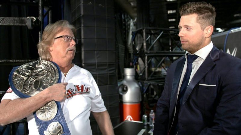 WWE superstar, the Miz and his father George certainly share an interesting relationship.