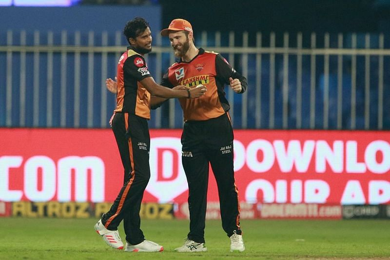 T Natarajan is one of the players Aakash Chopra wants the Sunrisers Hyderabad to retain [P/C: iplt20.com]