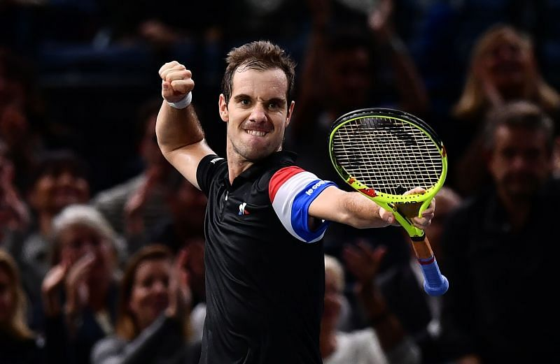 Richad Gasquet will have an edge over his opponent playing on the indoor hard-courts.