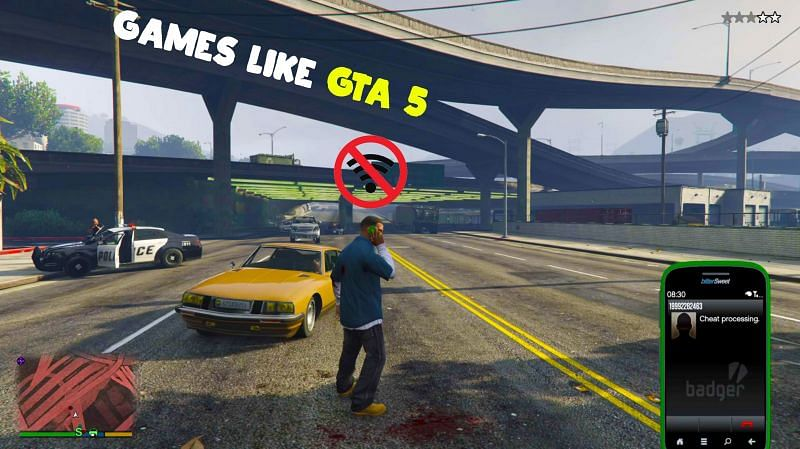Offline Android replacements for GTA 5 (Image via DesertRain)
