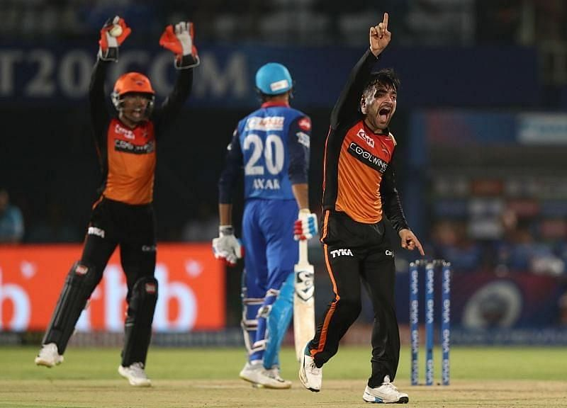 Sunrisers Hyderabad vs Delhi Capitals. Pic: IPLT20.COM