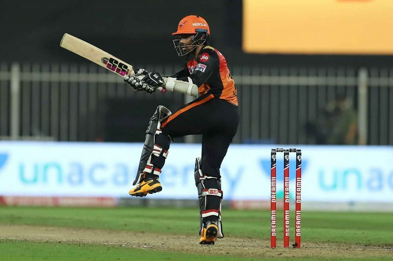 Wriddhiman Saha smashed an unbeaten 45-ball 58 in his last IPL 2020 game. (Credits: IPLT20.com)