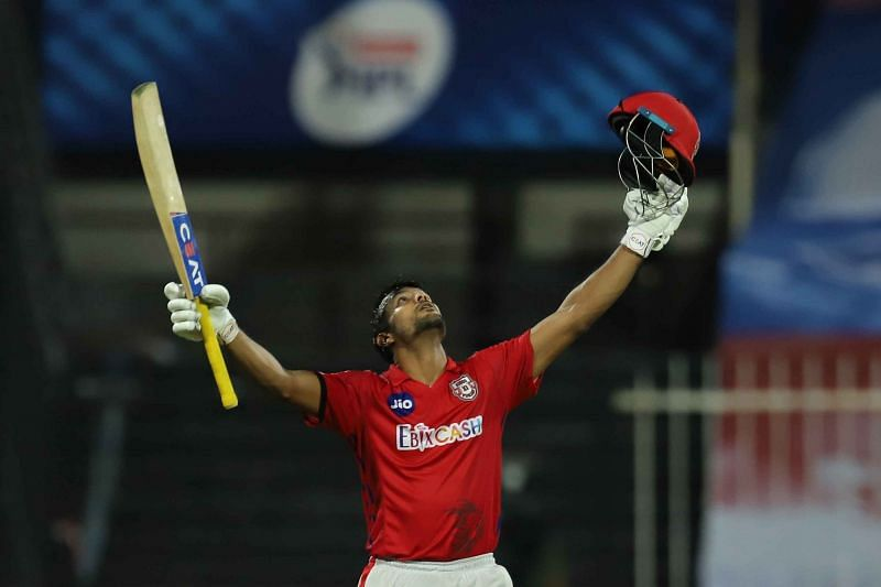 Mayank Agarwal put the RR bowlers to the sword [PC: iplt20.com]