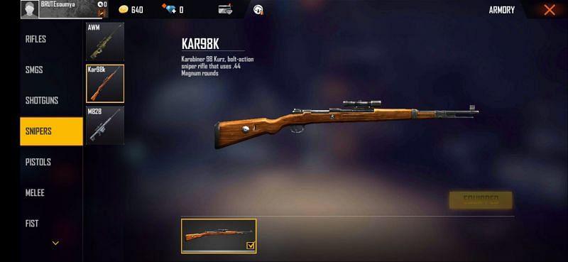 The Kar98K