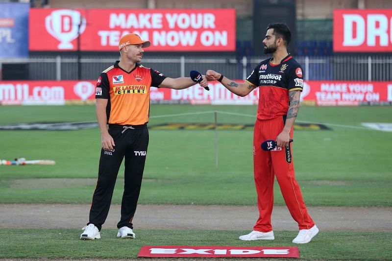 Both SRH and RCB finished on 14 points after the IPL 2020 league stage