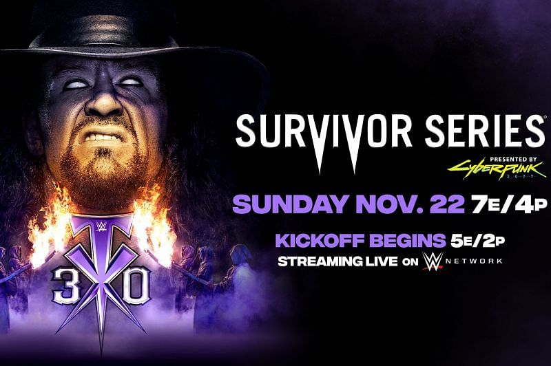 Survivor Series 2020 marks the 30th Anniversary of The Undertaker
