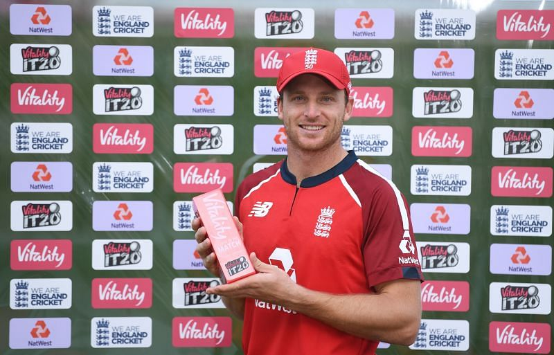 Jos Buttler batted in the middle-order for the Rajasthan Royals in IPL 2020