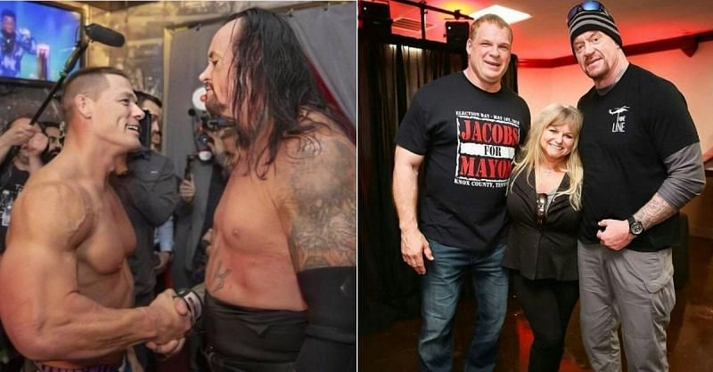John Cena and The Undertaker; Kane and The Undertaker