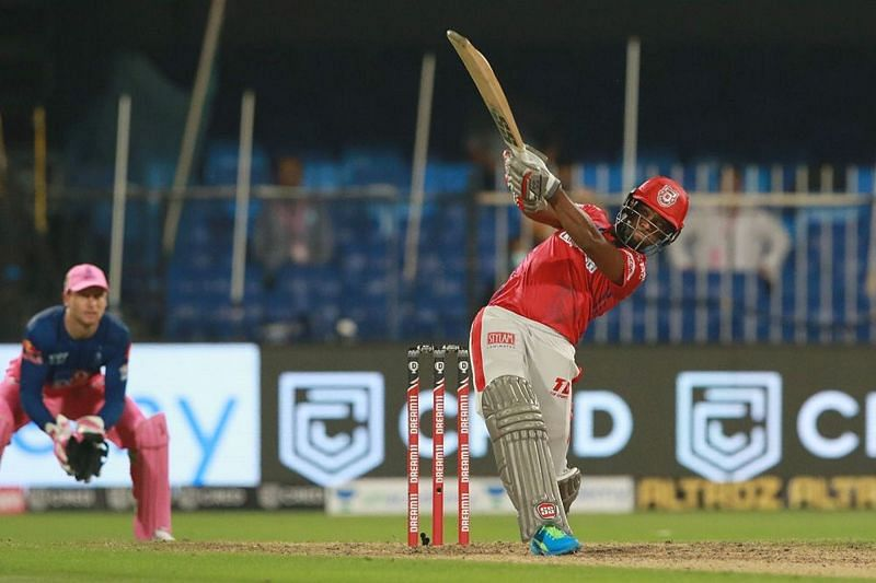 Nicholas Pooran batting against Rajasthan Royals [iplt20.com]