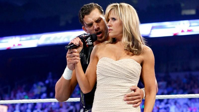 Lilian Garcia was the top ring announcer in WWE for almost 15 years and was able to deal with unique situations.