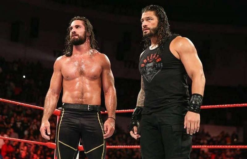 WWE SmackDown के सबसे बड़े सुपरस्टार्स रोमन रेंस और सैथ रॉलिंस