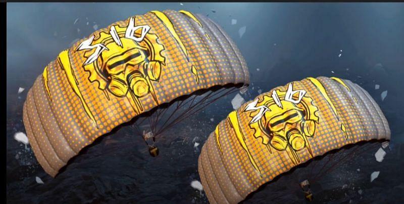 Ace parachute (Image via Mad Tamizha YT)