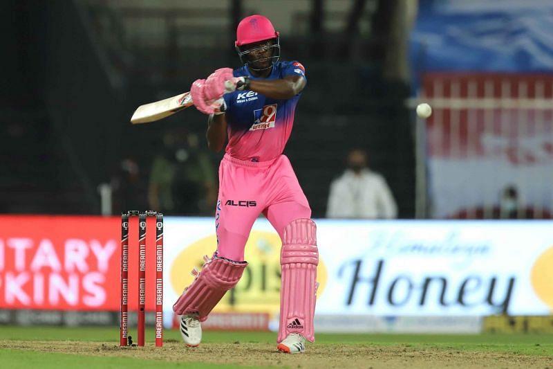 Jofra Archer batting against Chennai Super Kings [iplt20.com]