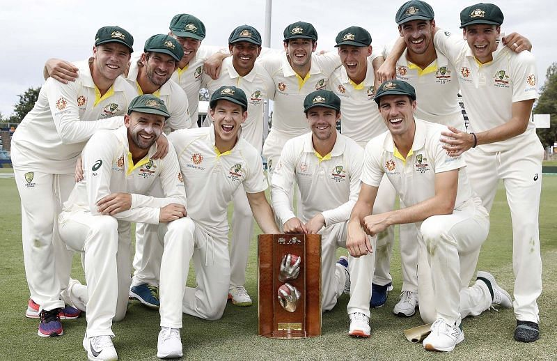 Australia is now at the top of the table with the new ranking system [cricket.com.au]