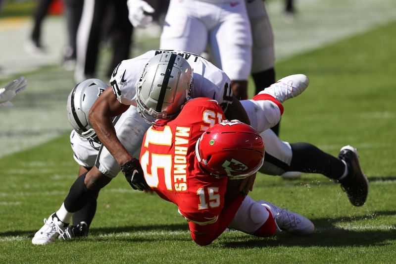 Las Vegas Raiders look to move to 2-0 against the Chiefs on Sunday Night