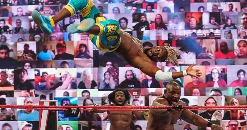 RAW Tag Team Championship Match.